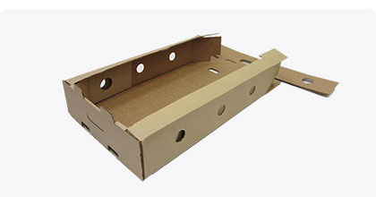 Self-assembly corrugated tray
